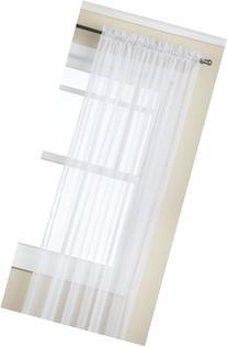 "Stylemaster Sheer Voile Elegance 60"" X 95"", Panel White"