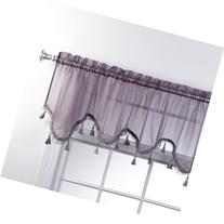 Stylemaster Home Products Lucky Striped Scalloped Valance,