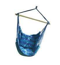 SueSport Hanging Rope Chair - Swing Hanging Hammock Chair -
