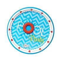 Summer Beach Ball Pool Party Supplies - Dinner Plates