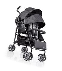 Summer Infant 3Dtwo Double Convenience Stroller, Gray