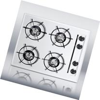 WTL033 24 Gas Cooktop 4 Open Burners and Electronic