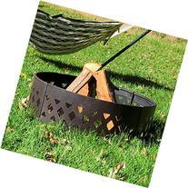 Sunnydaze Heavy Duty Crossweave Campfire Ring, 36 Inch