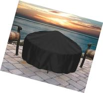Sunnydaze Round Black Fire Pit Cover, 36 Inch