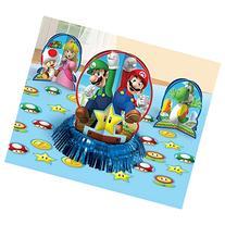 Super Mario 3 Piece Table Decorating Kit Plus 20 Confetti