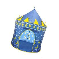 SySrion Boy's Blue Prince Castle Play Tent for Kids - Indoor
