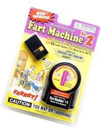 T.J. Wisemen Remote Control Fart Machine No. 2 Funny Gag