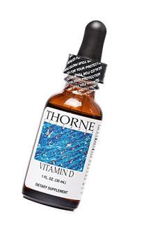 Thorne Research - Vitamin D Liquid Dietary Supplement - 1 fl