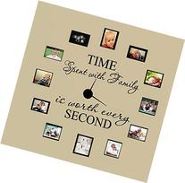 TIME SPENT WITH FAMILY WITH WORTH EVERY SECOND #3, WALL