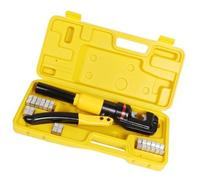 TMS 10 Ton Hydraulic Wire Battery Cable Lug Terminal Crimper