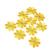 SODIAL 10pcs Embroidered Applique Flower Patches Sewing