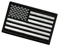Tactical USA Flag Patch-Black & White By Seibertron