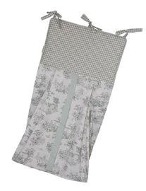 Tadpoles Toile Diaper Stacker, Sage