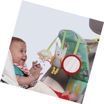 Taf Toys Play and Kick Car Seat Toy, Travel Activity Center