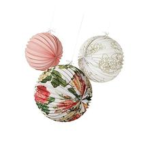 Talking Tables Blossom & Brogues Floral Paper Lanterns for a