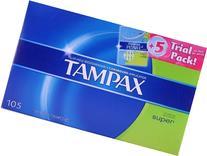 Tampax Tampons, Super  Plus 5 ct. Tampax Pearl Trial Pack
