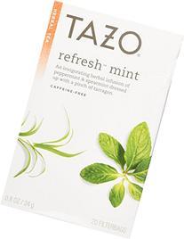 TAZO TEA REFRESH MINT, 20 BG