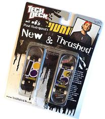 Tech Deck New & Thrashed Plan B Matt Paul Rodriguez Purple