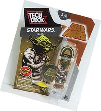 Tech Deck Star Wars Yoda Santa Cruz Fingerboard 2/6 w