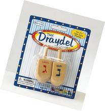 The Draydel Game with 2 Large Wooden Draydels
