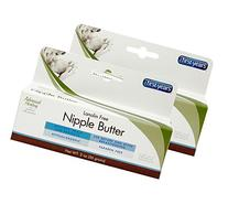 The First Years Lanolin Free Nipple Butter, 2 Ounce, Pack of 2
