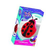 The Orb Factory PlushCraft Ladybug Pillow  No Sewing