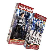 Three Counting and Talking Wrestling Referee Action Figure