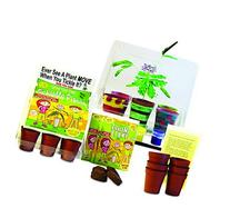 TickleMe Plant Deluxe Greenhouse Kit with 6 color Paint Set