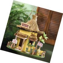 Tiki Hut Hanging Birdhouse