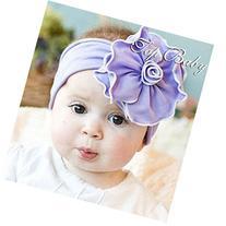 Tinksky Lovely Sunflower Style Baby Infant Newborn Hand