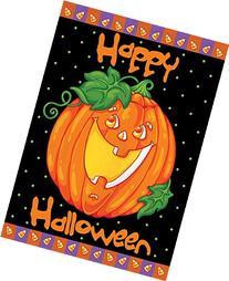 Toland Home Garden Happy Halloween 12.5 x 18 Inch Decorative
