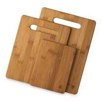Totally Bamboo 3 Piece Bamboo Cutting Board Set, For Meat &