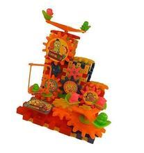 Toy Gears Building Set - 81 pcs with Interlocking Blocks -