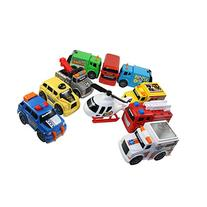 Toy State Emergency City Vehicles set of 10- Police, Fire