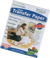 Transfer Magic 8-1/2-Inch by 11-Inch Ink Jet Transfer Paper