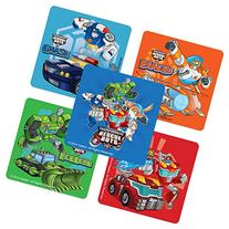Transformers Rescue Bots Stickers - Birthday and Theme Party