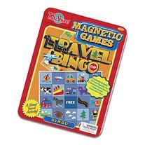 Travel Bingo Magnetic Game Tin
