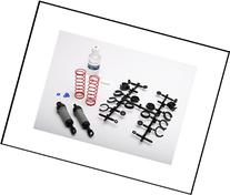 Traxxas 3760A Gray Ultra Shocks Complete with Springs, Long