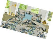 Tribeca Living Casablanca 5-Piece Cotton Floral Duvet Cover