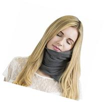 Trtl Soft Neck Support Travel Pillow, Grey