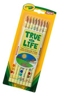 Crayola True To Life Pencils