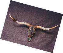 Turquoise Beaded Longhorn Skull