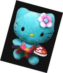 Ty Beanie Babies Hello Kitty Turquoise Plush