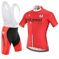 size:XL] Quick Short Sleeve Dry Cycling Men pad Jersey Tops