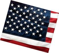 U.S. American Flag 3'x5' + FREE Affiche. Made in USA.
