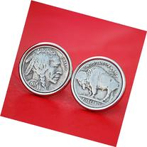 US 1937 Indian Head Buffalo Nickel Coin Silver Plated