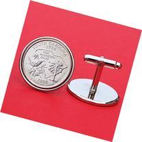 US 2000 South Carolina State Quarters Bu Unc Coins Cufflinks