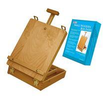 US Art Supply® Newport Small Adjustable Wood Table