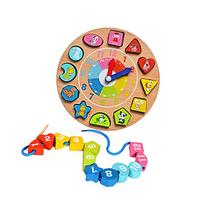 BATTOP-Toys&Games Wooden Shape Sorting Game