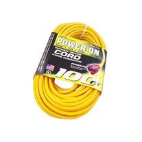 US Wire 74100 12/3 100-Feet SJTW Yellow Heavy-Duty Lighted